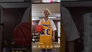 180124 슈퍼주니어 yesung 인스타그램 라이브 instagram live clip