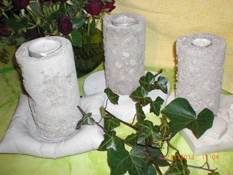 diy deko hand aus beton oder gips mit latexhandschuh selber machen betonhand gipshand musica. Black Bedroom Furniture Sets. Home Design Ideas