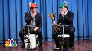 Cooler Scooter Race with Liam Hemsworth (Late Night with Jimmy Fallon)