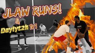 Intense 5v5 Basketball! Things Got Heated!! 1v1 Whit3 Iverson vs Daylyt2k!