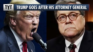 Trump LASHES OUT at HIS Attorney General William Barr