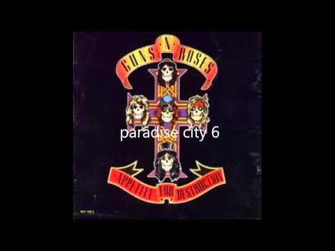 Baixar guns n' roses appetite for destruction ( full album )