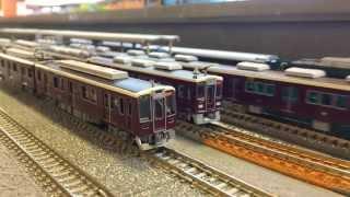 [鉄道模型]阪急7000系7010Fリニューアル③/ポポンデッタイオンモールKYOTO店