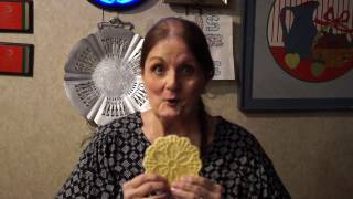 100 Things you can do with a pizzelle cookie