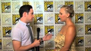 Comic-Con 2012 - Kaley Cuoco Interview