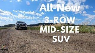 2020 Hyundai Palisade 1st. drive with Nik Miles ... no driving impressions!