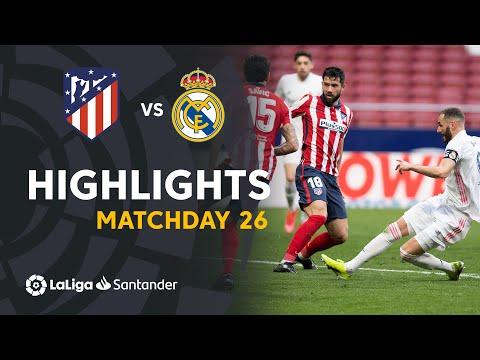 Highlights Atlético de Madrid vs Real Madrid (1-1)