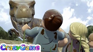 LEGO Dinosaurs Jurassic Park Game Movie - #LEGO Jurassic World For Children & Kids