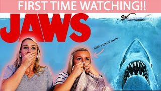 JAWS (1975) | MOVIE REACTION | FIRST TIME WATCHING