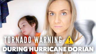 TORNADO WARNINGS & HURRICANE DORIAN (WHERE'S BRYLEIGH???) | Family 5 Vlogs