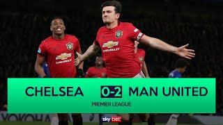 Chelsea 0-2 Manchester United - VAR Disallows 2 Chelsea Goals