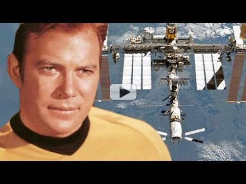 Captain Kirk Calls Space Station