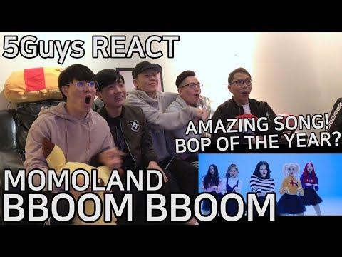 [OMFG AMAZING] MOMOLAND (모모랜드) - BBoom BBoom (뿜뿜) 5Guys MV REACT