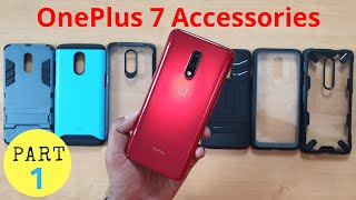 Best Accessories for OnePlus 7 | Drop Proof Back Case Cover | Skins | Hindi