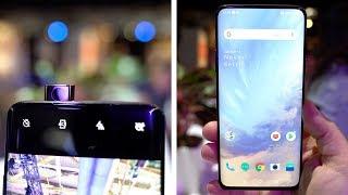 OnePlus 7 Pro Hands-On: No Notch, Pop up Camera!