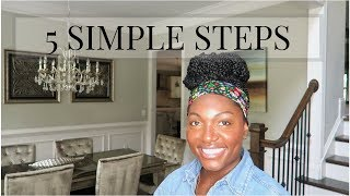 5 STEPS TO MAKE YOUR HOME LOOK EXPENSIVE | EASY HOME DECOR TIPS