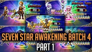 Seven Star Awakening Batch 4 Part 1 - [FFBE] Final Fantasy Brave Exvius