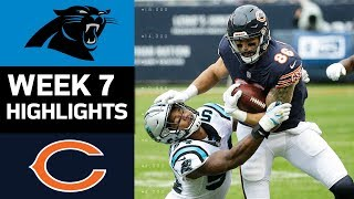 Panthers vs. Bears | NFL Week 7 Game Highlights