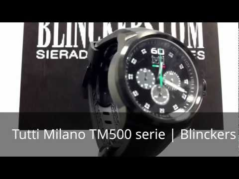 Horloge productvideo Tutti Milano TM500 serie | Blinckers.com
