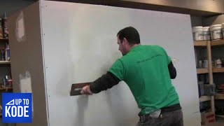 Best Way to tape and coat a Butt Joint in Drywall (#2012)