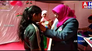72nd Independence Day Celebrations By  Telangana Minorities Yakutpura Girl School Children's