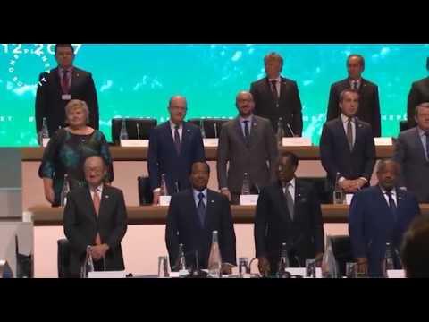 One Planet Summit - Ouverture des travaux, 12 décembre 2017