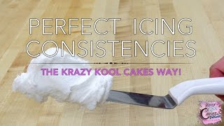 Perfect Icing Consistencies: BEST BUTTERCREAM How To