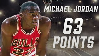 Michael Jordan's record-setting 63-point playoff performance | NBA Feature