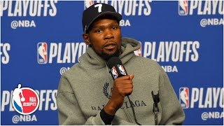 'It's hard to guard these guys' - KD talks Warriors' Game 4 loss to the Rockets | 2019 NBA Playoffs