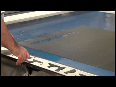 Eastman S125 Static Table Cutting System - Cutting Laminated Carbon Fiber