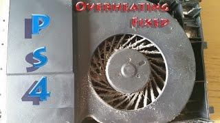 Ps4 fan cleaning