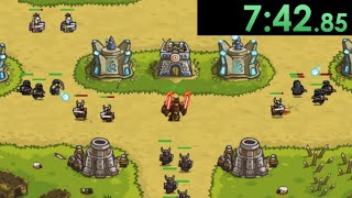 So I decided to speedrun Kingdom Rush and created technical strategies to go fast