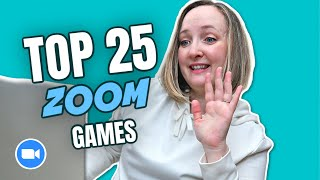 25 Fun Games to Play on Zoom | Virtual Zoom Games for Teachers, Friends, and Families