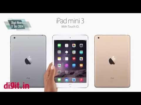 Apple unveils ipad air 2 and the ipad mini 3