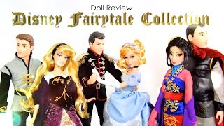 Doll Review: Disney's Fairytale 2014 Complete Collection