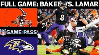 Browns vs. Ravens Week 17, 2018 FULL Game: Rookies Baker Mayfield vs. Lamar Jackson