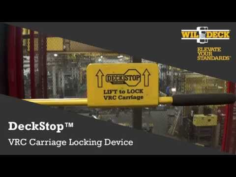 DeckStop™ Carriage Safety Device
