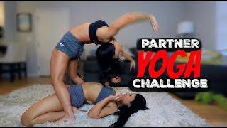 PARTNER YOGA CHALLENGE Xmas Edition