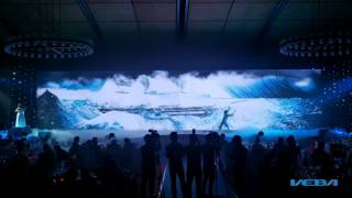 BIDV 20 năm những cánh sóng thời gian - Múa tương tác - by Veba group