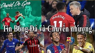 Tin bóng đá   Chuyển nhượng   18/01/2019   De Gea gia hạn, Martial ở lại MU   Morata đến Atletico