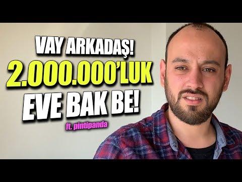 2.000.000 TL DEĞERİNDEKİ YAYINCI EVİNİ GEZİYORUZ! (ft. Pintipanda)