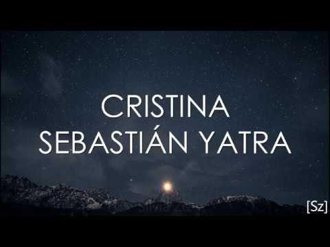Sebastian Yatra - Cristina (Letra)