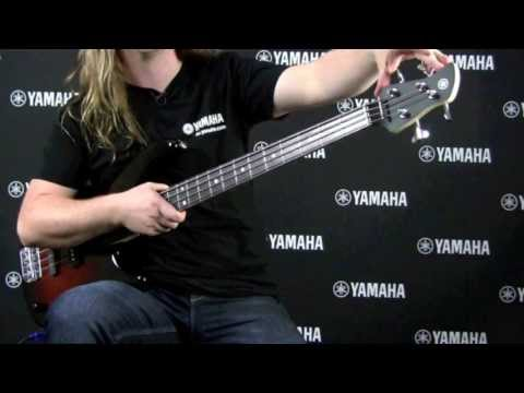 Yamaha TRBX174 Electric Bass Guitar (Old Violin Sunburst)