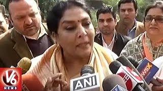 Renuka Chowdhury fires on PM Modi over his Jibe..
