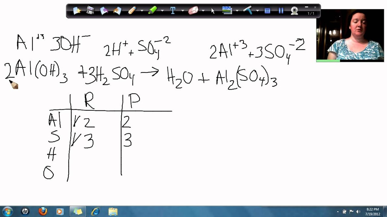 write a balanced equation for hydrochloric acid and calcium hydroxide