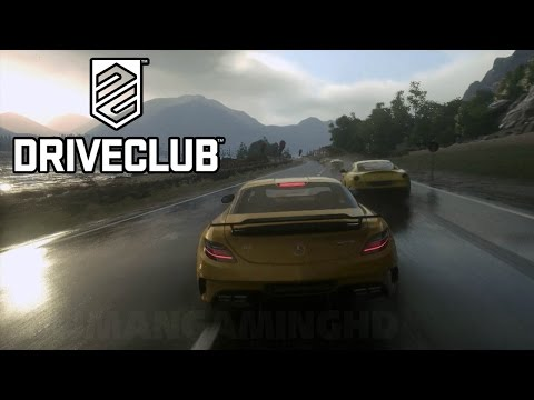 DriveClub - Weather & Gameplay Demo @ GamesCom [1440p] TRUE HD QUALITY