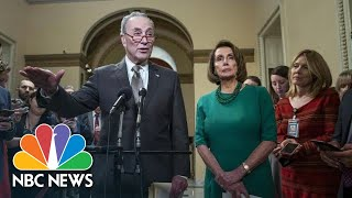 Chuck Schumer: President Donald Trump 'Plunging The Country Into Chaos'   NBC News