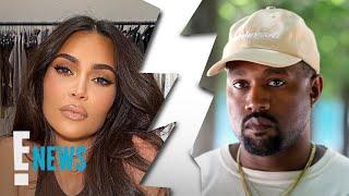 Kim Kardashian Files for Divorce From Kanye West   E! News