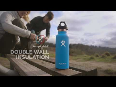 Hydro Flask 21 oz Standard Mouth Vacuum Insulated Drinks Bottle