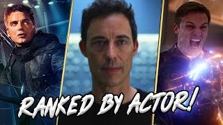 Arrowverse Main Villains Actors RANKED!